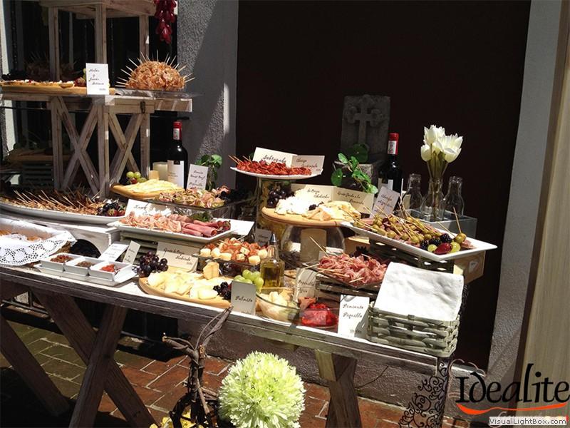 Vinos y licores idealite for Decoracion de canapes